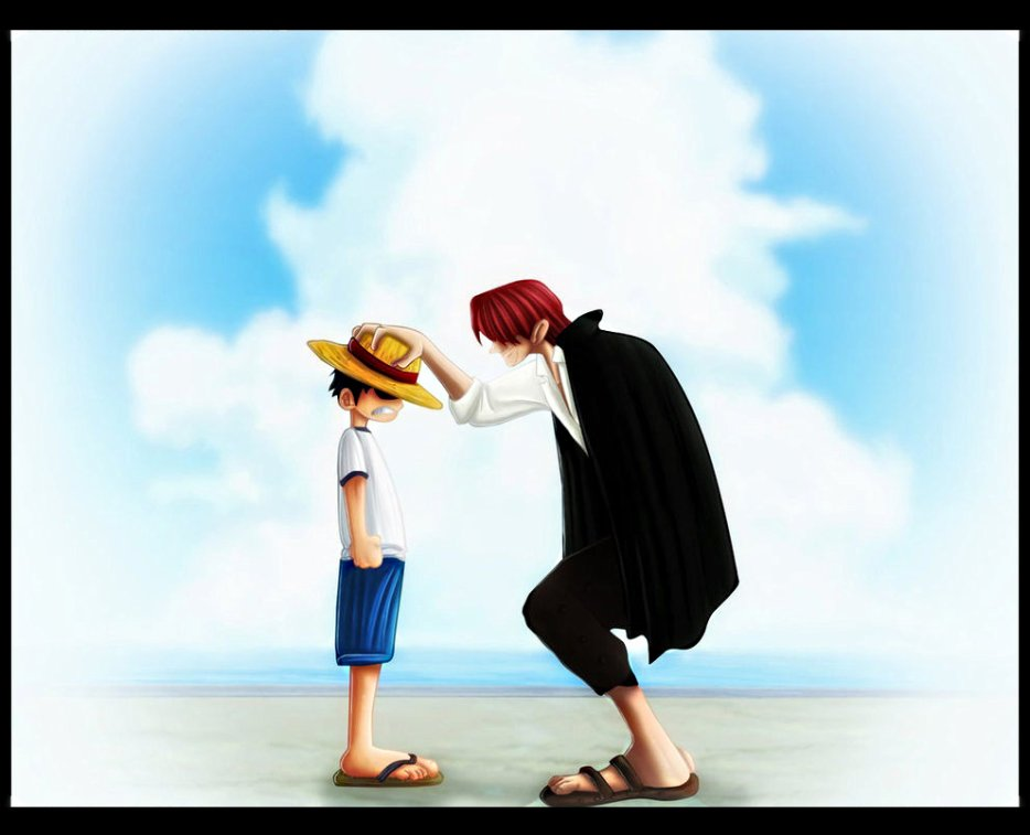 One piece rencontre shanks barbe blanche